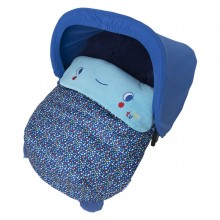 Tuc Tuc - Saco Mini de Inverno + Capota Enjoy & Dream - Azul