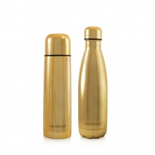 Miniland - My Baby & Me Thermo 2x500ml - Gold