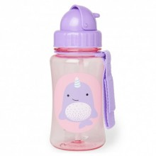 Skip Hop - Copo Straw Bottle - Narwhal
