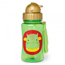 Skip Hop - Copo Straw Bottle - Dragon