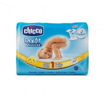 Chicco - Fraldas Dry Fit Advanced T.1