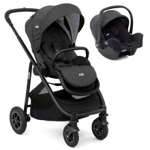 Joie - Duo Versatrax c/i-Snug - Pavement '2020