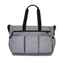 Skip Hop - Duo Double Heather Grey