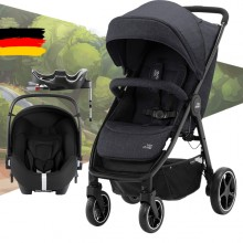 Britax Römer - Duo B-Agile M - Black Shadow