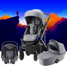 Britax Römer - Trio Smile III Comfort Plus - Frost Grey Black