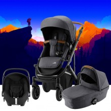 Britax Römer - Trio Smile III Comfort Plus - Midnight Grey