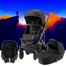 Britax Römer - Trio Smile III Comfort Plus - Space Black