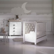 Micuna - Cama Dolce Luce com Led System e Relax System - Blanco