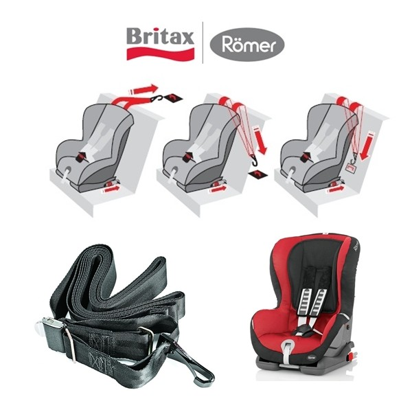 britax r mer cinto extra top tether p duo plus babyblue. Black Bedroom Furniture Sets. Home Design Ideas