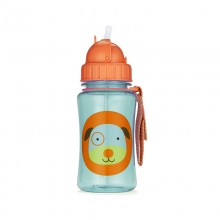 Skip Hop - Copo Straw Bottle - DOG