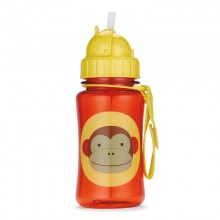 Skip Hop - Copo Straw Bottle - MONKEY