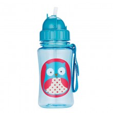Skip Hop - Copo Straw Bottle - OWL