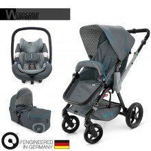 Concord - Trio Wanderer Mobility Set - Stone Grey