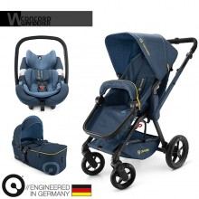 Concord - Trio Wanderer Mobility Set - Denim Blue