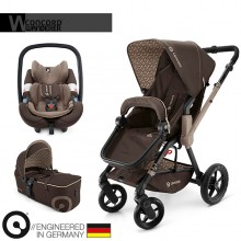 Concord - Trio Wanderer Mobility Set - Chocolate Brown
