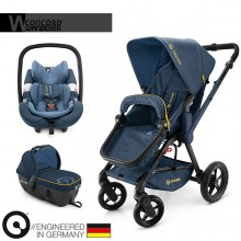 Concord - Trio Wanderer Travel Set - Denim Blue