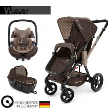 Concord - Trio Wanderer Travel Set - Chocolate Brown
