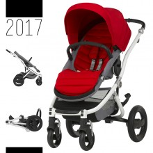 Britax Römer - Affinity 2 - White Flame Red '2017