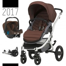 Britax Römer - Duo Affinity 2 - White Wood Brown '2017