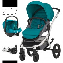 Britax Römer - Duo Affinity 2 - White Lagoon Green Marble '2017