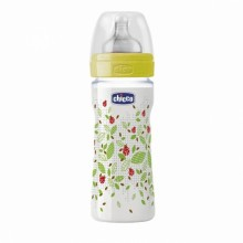 Chicco - Biberão Well-Being 250ml Neutro +2M
