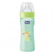 Chicco - Biberão Well-Being Colorido 250ml Neutro +2M