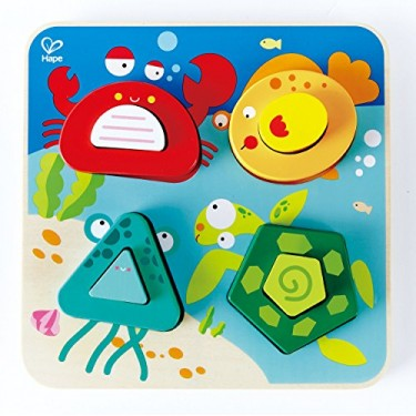 Hape - Puzzle Animais do Mar