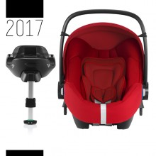 Britax Römer - Baby-Safe i-Size Bundle - Flame Red '2017