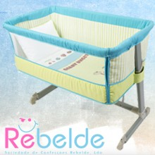 Rebelde - Mini-Berço Co-Sleeping - Berry Sweet '2017