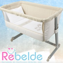 Rebelde - Mini-Berço Co-Sleeping - Vintage '2017