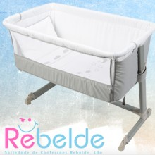 Rebelde - Mini-Berço Co-Sleeping - Silver Moon '2017