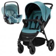 Britax Römer - Duo B-Motion 4 i-Size Bundle - Lagoon Green '2019