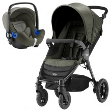 Britax Römer - Duo B-Motion 4 i-Size Bundle - Olive Denim '2019