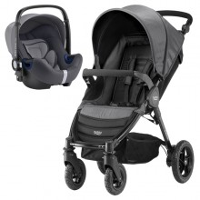 Britax Römer - Duo B-Motion 4 i-Size Bundle - Black Denim '2019
