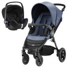 Britax Römer - Duo B-Motion 4 i-Size Bundle - Blue Denim '2019