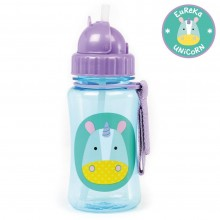 Skip Hop - Copo Straw Bottle - Unicorn