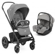 Joie - Duo Chrome DLX c/i-Snug - Foggy Gray '2020