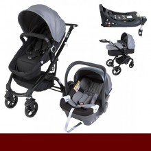 Os Ursitos - Duo G16 HBR c/Isofix- Antracite