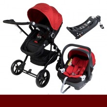 Os Ursitos - Duo G16 HBR c/Isofix- Red