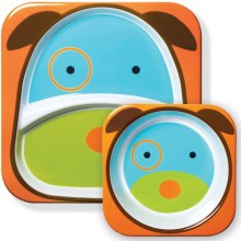 Skip Hop - Prato + Taça ZOO TABLEWARE - Dog