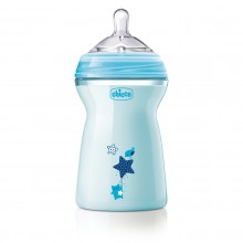 Chicco - NaturalFeeling Azul 6M+ 330ml
