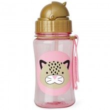 Skip Hop - Copo Straw Bottle - Leopard